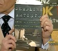 John Avlon John Avlon Talks About Deadline Artists – Book TV – C-Span