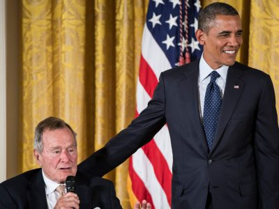 John Avlon George H.W. Bush, Our Preppiest Ex-President, Honored at White House