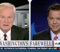 John Avlon Washington's Farewell – MSNBC – Hardball with Chris Matthews