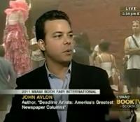 John Avlon Book TV Interviews John Avlon on Deadline Artists