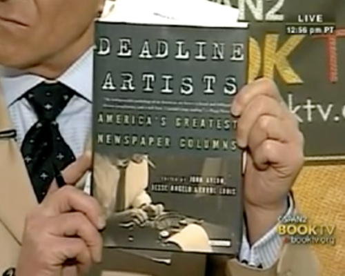 John Avlon John Avlon Talks About Deadline Artists – Book TV – C-Span