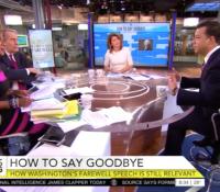 John Avlon John Avlon Discusses George Washington's Farewell Speech and it's Relevance Today – CBS