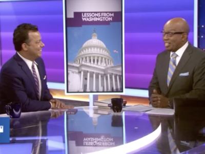John Avlon George Washington's Farewell for 2018 with Errol Louis on NY1