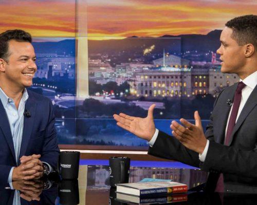 John Avlon The Daily Show with Trevor Noah