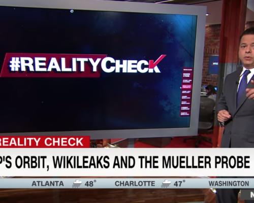 John Avlon The Times WikiLeaks Connected in Trump's Orbit – Reality Check with John Avlon – CNN