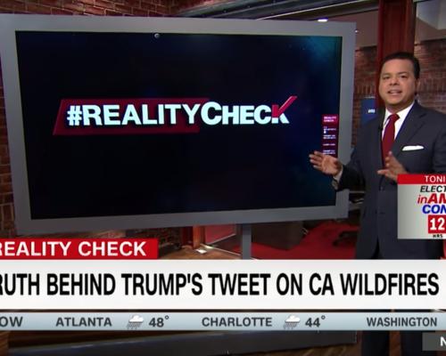 John Avlon Extinguishing Trump's California wildfire claim – Reality Check with John Avlon – CNN