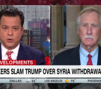 John Avlon Sen. King: ISIS will use Syria withdrawal as recruitment tool – New Day – CNN