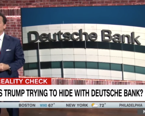 John Avlon Avlon: What's Trump Trying to Hide with Deutsche Bank? – CNN