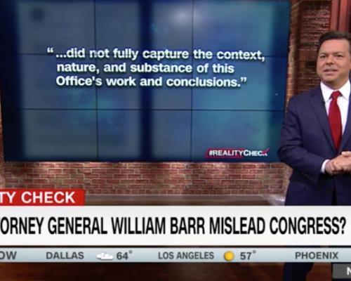 John Avlon William Barr Conveniently Forgot a Lot – CNN