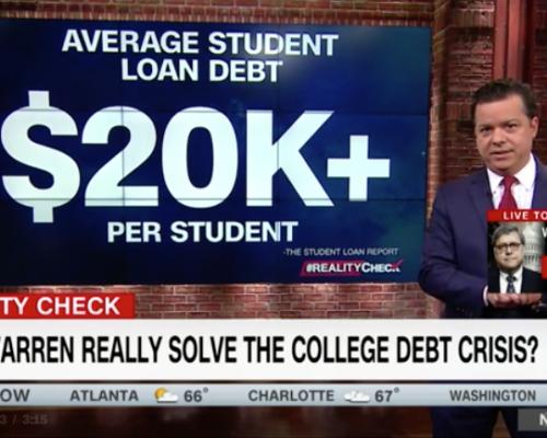 John Avlon A Look Into Elizabeth Warren's College Plan – CNN