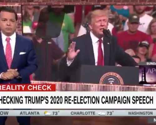 John Avlon Fact Checking Trump's 2020 Kickoff Speech – CNN