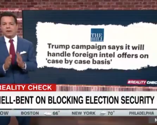 John Avlon GOP Hell-Bent on Blocking Election Security – CNN