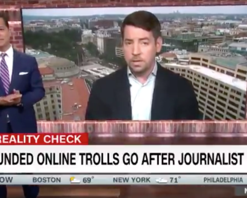 John Avlon US Funded Trolls Go After Journalist – CNN