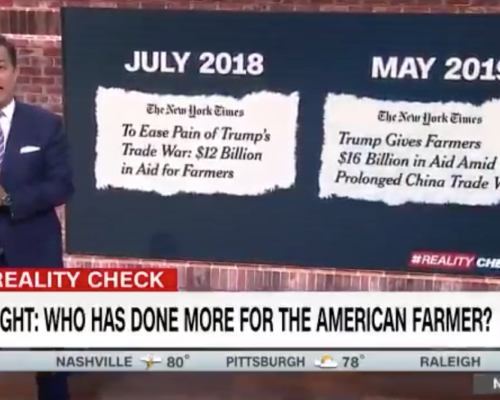 John Avlon Who Has Done More for America's Farmers? – CNN