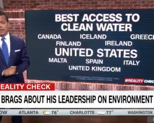 John Avlon Trump Brags About His Leadership on the Environment – CNN