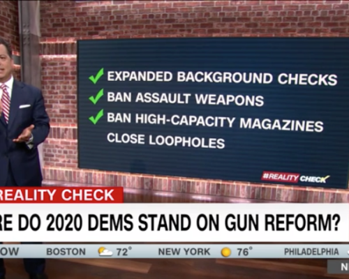 John Avlon Where do 2020 Democrats Stand on Gun Control – CNN