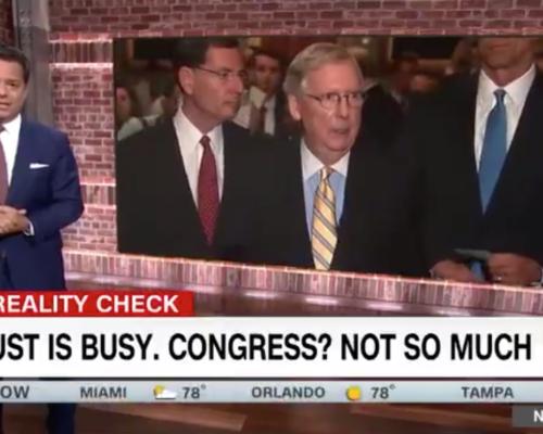 John Avlon August is a Busy Month, Congress Not So Much – CNN