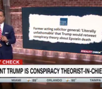John Avlon President Trump is Conspiracy Theorist-in-Chief – CNN