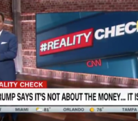 John Avlon When Trump Says It's Not About the Money… It Is – CNN