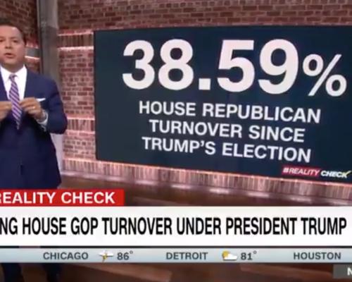 John Avlon Stunning House Turnover Under President Trump – CNN