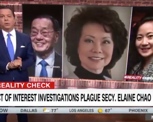 John Avlon Conflict of Interest Investigations Plague Secretary Elaine Chao – CNN