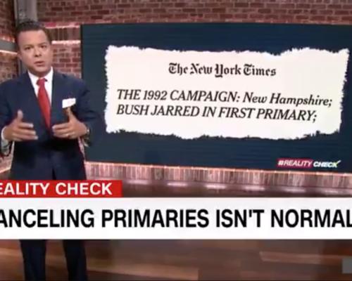 John Avlon Canceling Primaries is Not Normal – CNN
