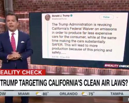 John Avlon Why Is Trump Targeting California's Clean Air Laws – CNN