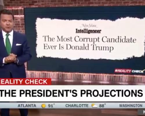 John Avlon All the President's Projections – CNN