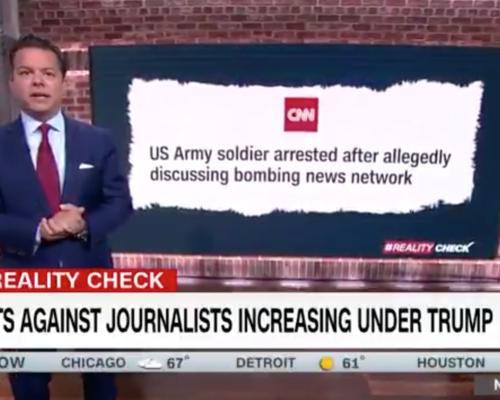 John Avlon Threats Against Journalism Increase Under Trump – CNN