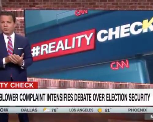 John Avlon Whistleblower Complaint Intensifies Debate Over Election Security – CNN