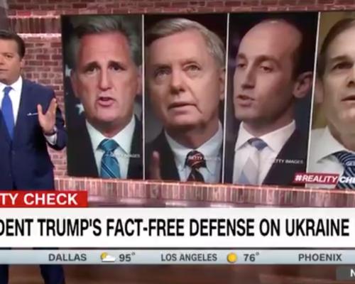 John Avlon President Trump's Fact Free Defense on Ukraine – CNN