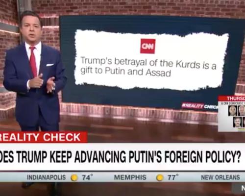 John Avlon Why Does Trump Keep Advancing Putin's Foreign Policy – CNN