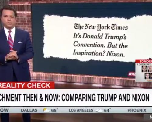 John Avlon Impeachment Then and Now: Comparing Trump to Nixon – CNN