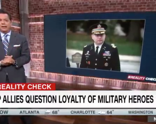 John Avlon Trump Allies Question Loyalty of Military Heroes – CNN