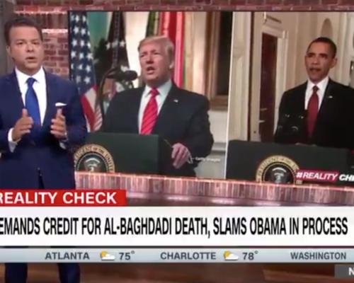 John Avlon Trumps Demands Credit for Al-Baghdadi Death, Slams Obama in Process – CNN