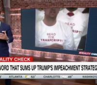 John Avlon One Word That Sums Up the President's Impeachment Strategy – CNN