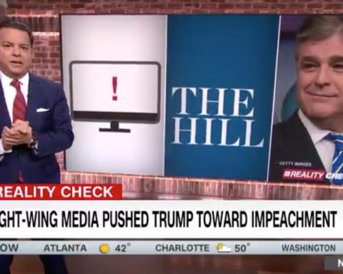 John Avlon How Right Wing Media Pushed Trump Toward Impeachment – CNN