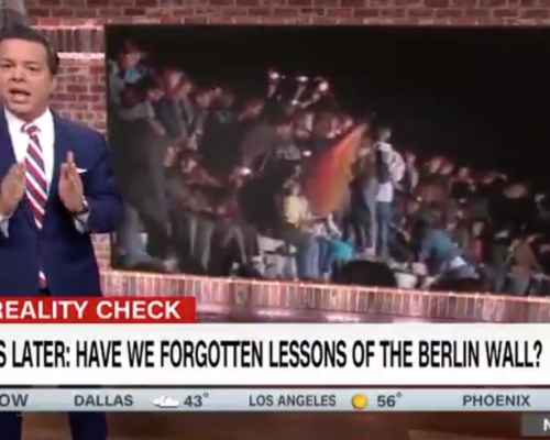 John Avlon 30 Years Later, Have We Forgotten the Lessons of the Berlin Wall? – CNN