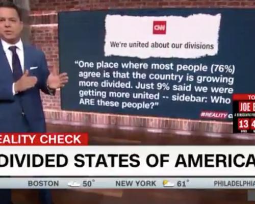 John Avlon New Series on the Fractured States of America – CNN