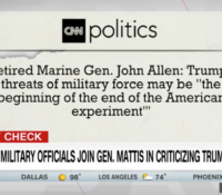John Avlon Why it matters that former military leaders spoke out – CNN
