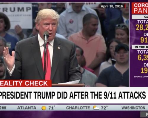 John Avlon What President Trump Did After the 9/11 Attacks – CNN