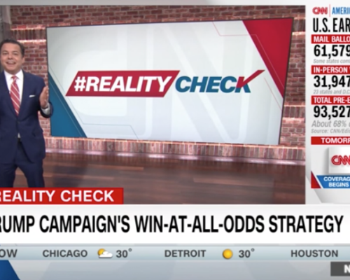 John Avlon Avlon calls out Trump's 'voter suppression strategy' – CNN