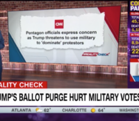 John Avlon Trump's Attacks On Mail-In Ballots Could Affect Military Votes – CNN