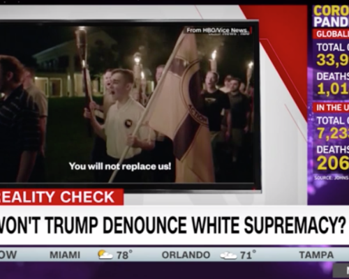 John Avlon Proud Boys See Trump's Comments as an Endorsement – CNN