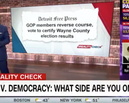 John Avlon It's Donald Trump vs. democracy. Which side are you on? – CNN