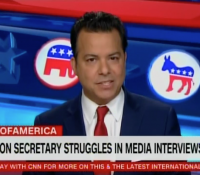 John Avlon Education Secretary Struggles with Media Interviews –  State of America – CNN
