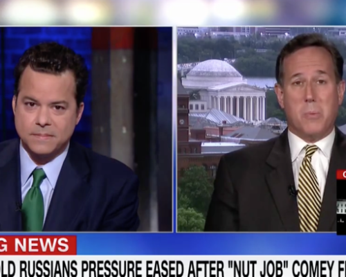 John Avlon John Avlon Debates Trump's Hyperbole with Rick Santorum