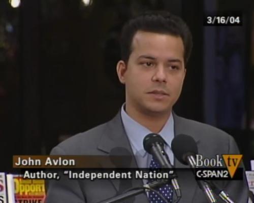 John Avlon John Avlon Discusses Independent Nation – C-Span