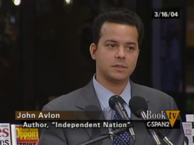 John Avlon John Avlon Discusses Independent Nation – C-Span