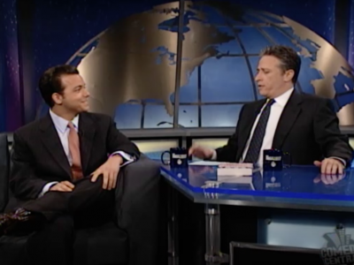 John Avlon John Avlon on the Daily Show with Jon Stewart